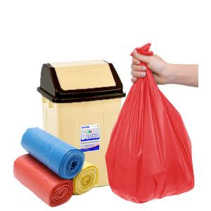 3 cuộn túi rác màu tự huỷ sinh học Opec 45x55cm 500g