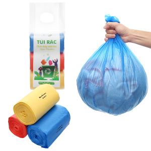 Lốc 3 cuộn túi rác màu tự huỷ sinh học Opec 45x55cm (1kg)