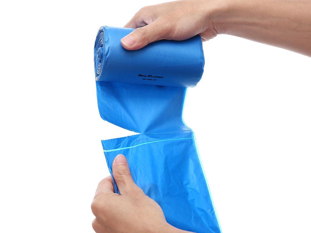 Lốc 3 cuộn túi rác màu tự huỷ sinh học Opec 45x55cm (1kg) 8