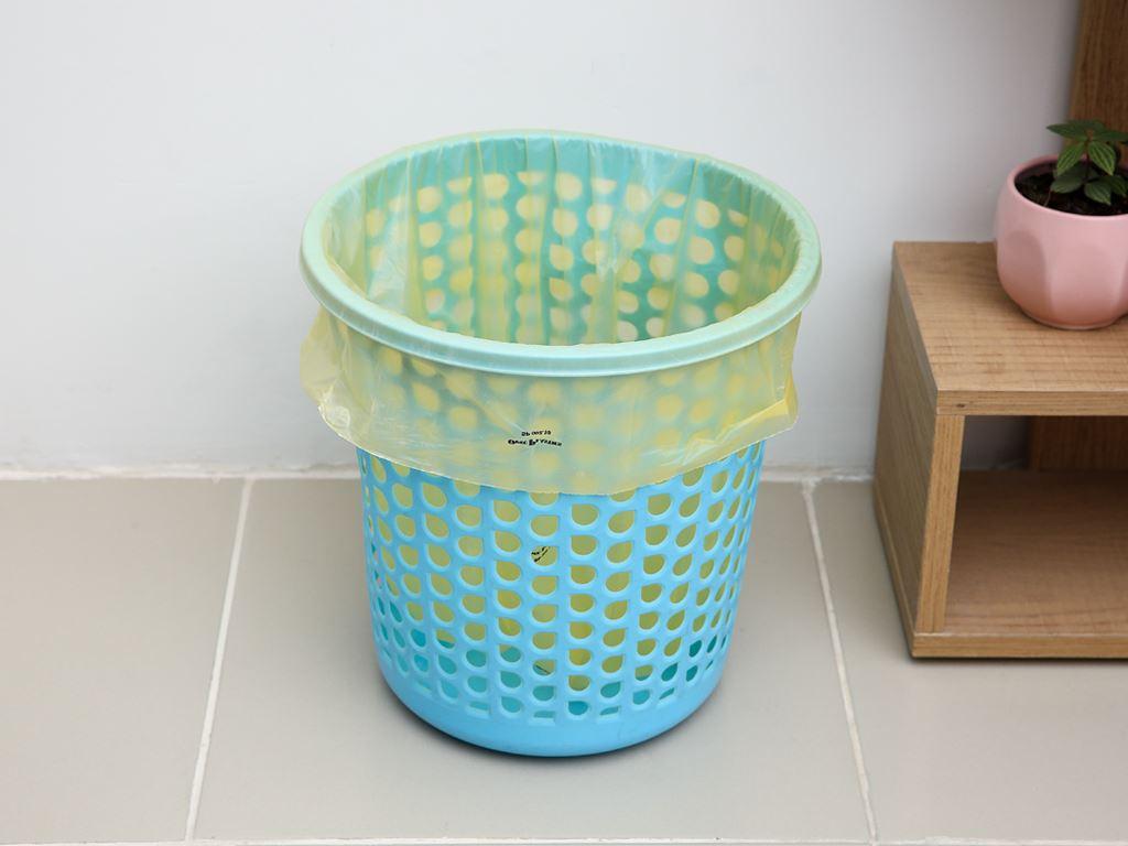 Lốc 3 cuộn túi rác màu tự huỷ sinh học Opec 45x55cm (1kg) 9