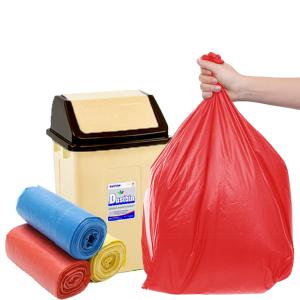 3 cuộn túi rác màu tự huỷ sinh học Opec 55x65cm 1kg