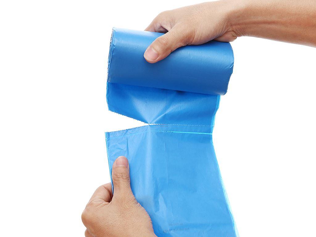 Lốc 3 cuộn túi rác màu tự huỷ sinh học Opec 55x65cm (1kg) 5