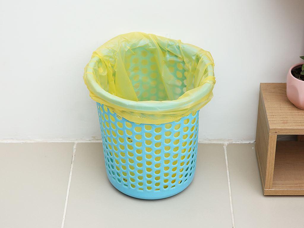 Lốc 3 cuộn túi rác màu tự huỷ sinh học Opec 55x65cm (1kg) 6