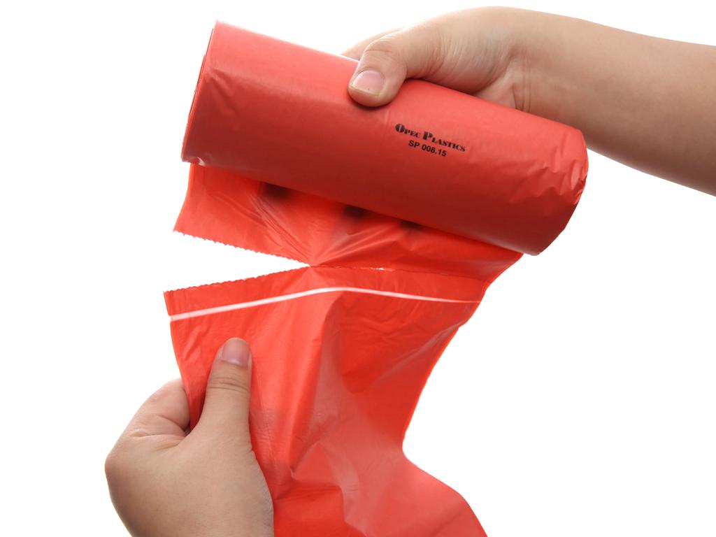 Lốc 3 cuộn túi rác 3 màu tự huỷ sinh học Opec 65x78cm 3