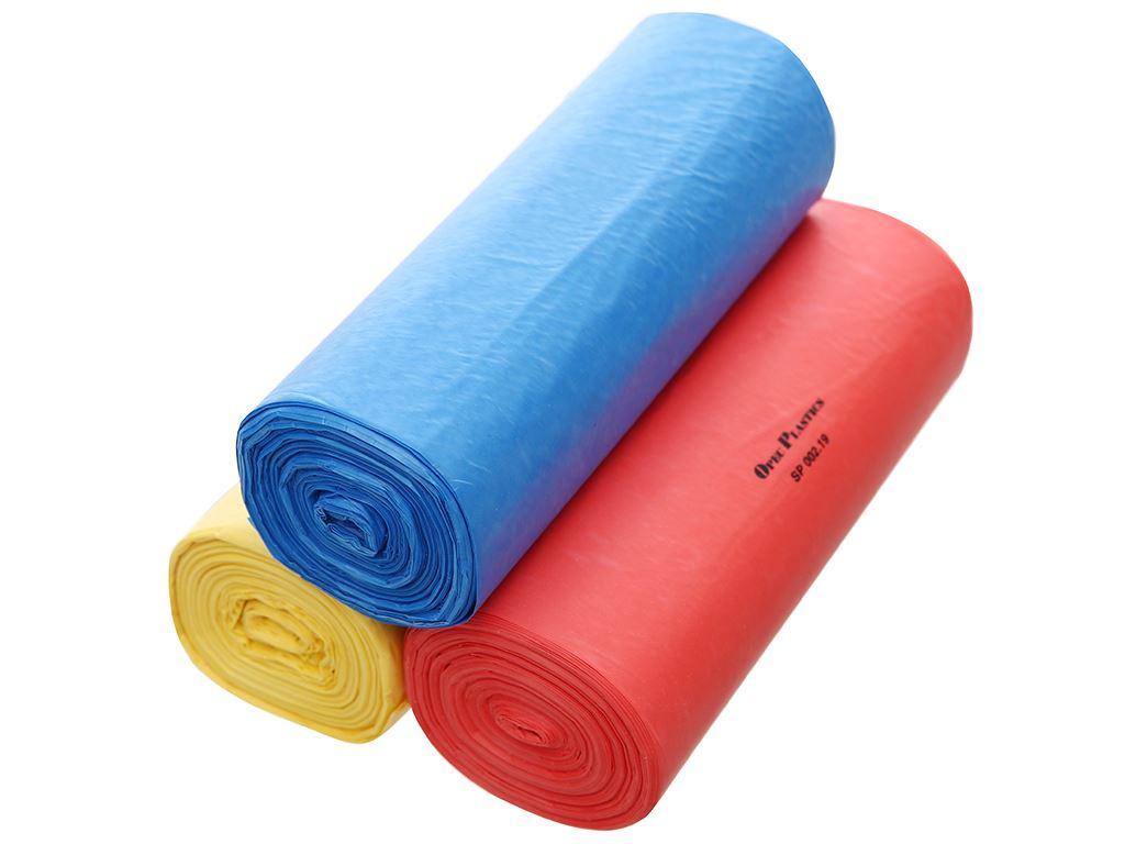 Lốc 3 cuộn túi rác màu tự huỷ sinh học Opec 65x78cm (1kg) 3