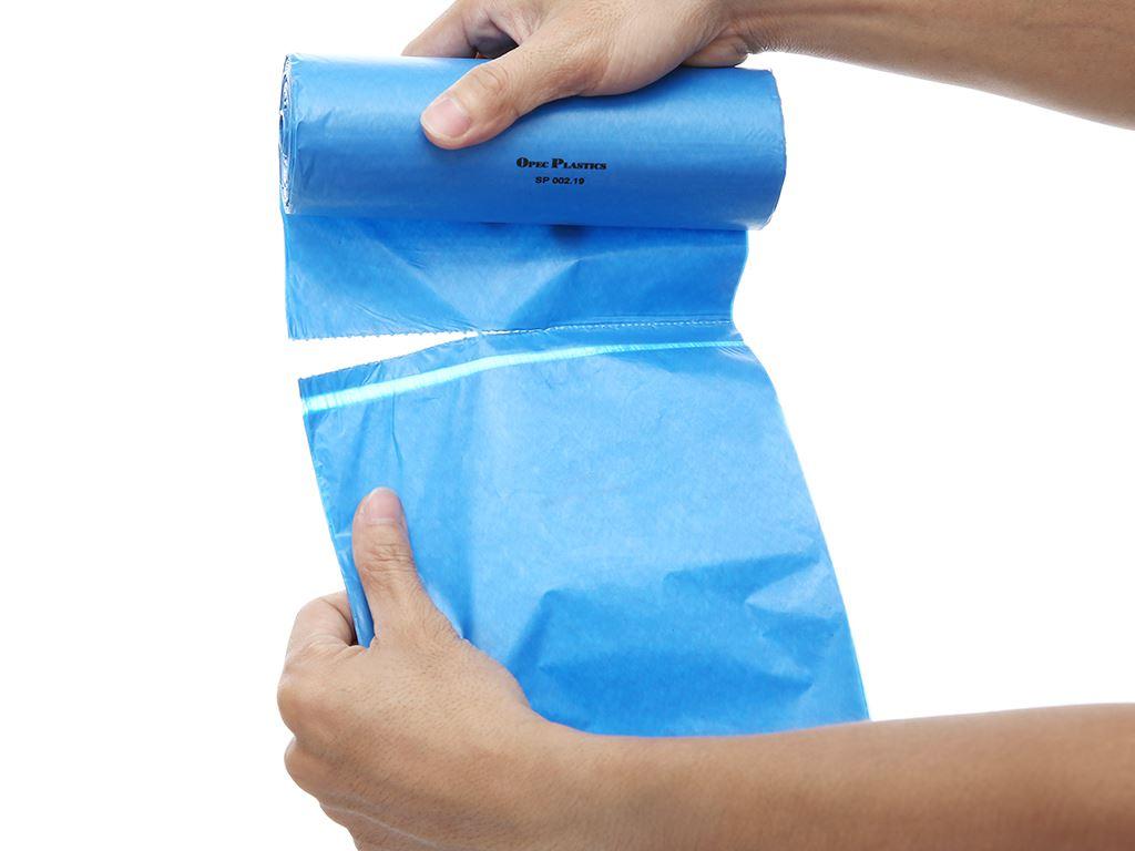 Lốc 3 cuộn túi rác màu tự huỷ sinh học Opec 65x78cm (1kg) 5