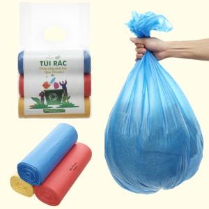 Lốc 3 cuộn túi rác màu tự huỷ sinh học Opec 65x78cm (1kg)