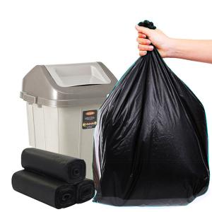 Lốc 3 cuộn túi rác đen tự huỷ sinh học Opec 65cm x 78cm (1kg)