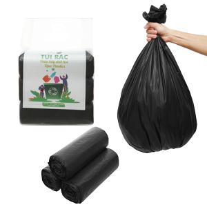 Lốc 3 cuộn túi rác đen tự huỷ sinh học Opec 65x78cm (1kg)