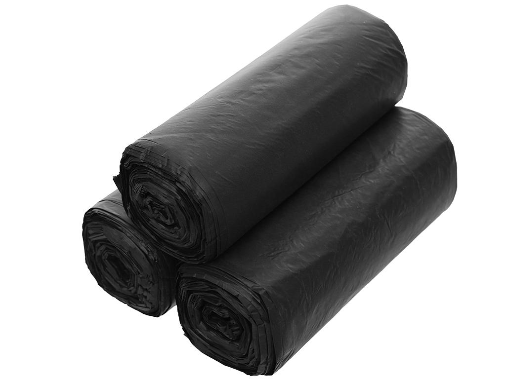 Lốc 3 cuộn túi rác đen tự huỷ sinh học Opec 65x78cm (1kg) 3
