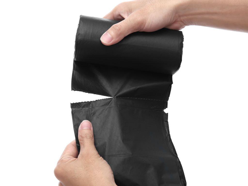 Lốc 3 cuộn túi rác đen tự huỷ sinh học Opec 55x65cm (1kg) 5