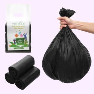 Lốc 3 cuộn túi rác đen tự huỷ sinh học Opec 55x65cm (1kg)