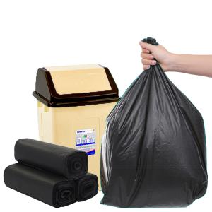 3 cuộn túi rác đen tự hủy sinh học 55x65cm 1kg