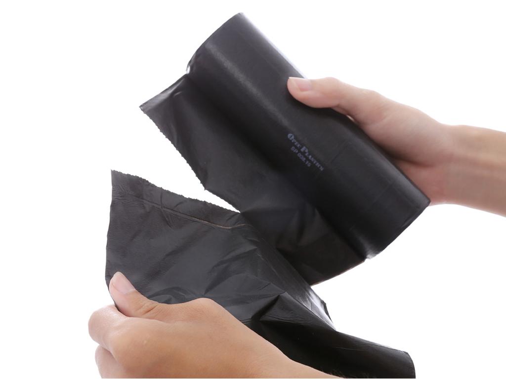 Lốc 3 cuộn túi rác đen tự huỷ Opec 65x78cm (1kg) 4
