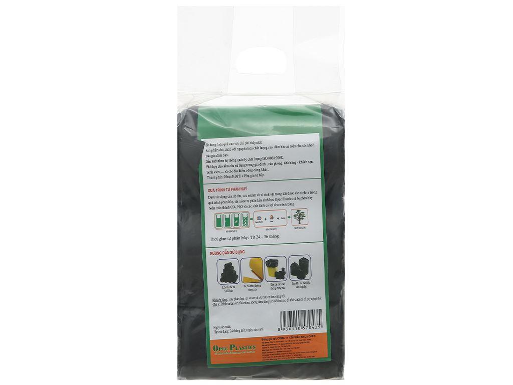 Lốc 3 cuộn túi rác đen tự huỷ sinh học Opec 45x55cm (1kg) 2