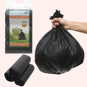 Lốc 3 cuộn túi rác đen tự huỷ sinh học Opec 45x55cm (1kg)