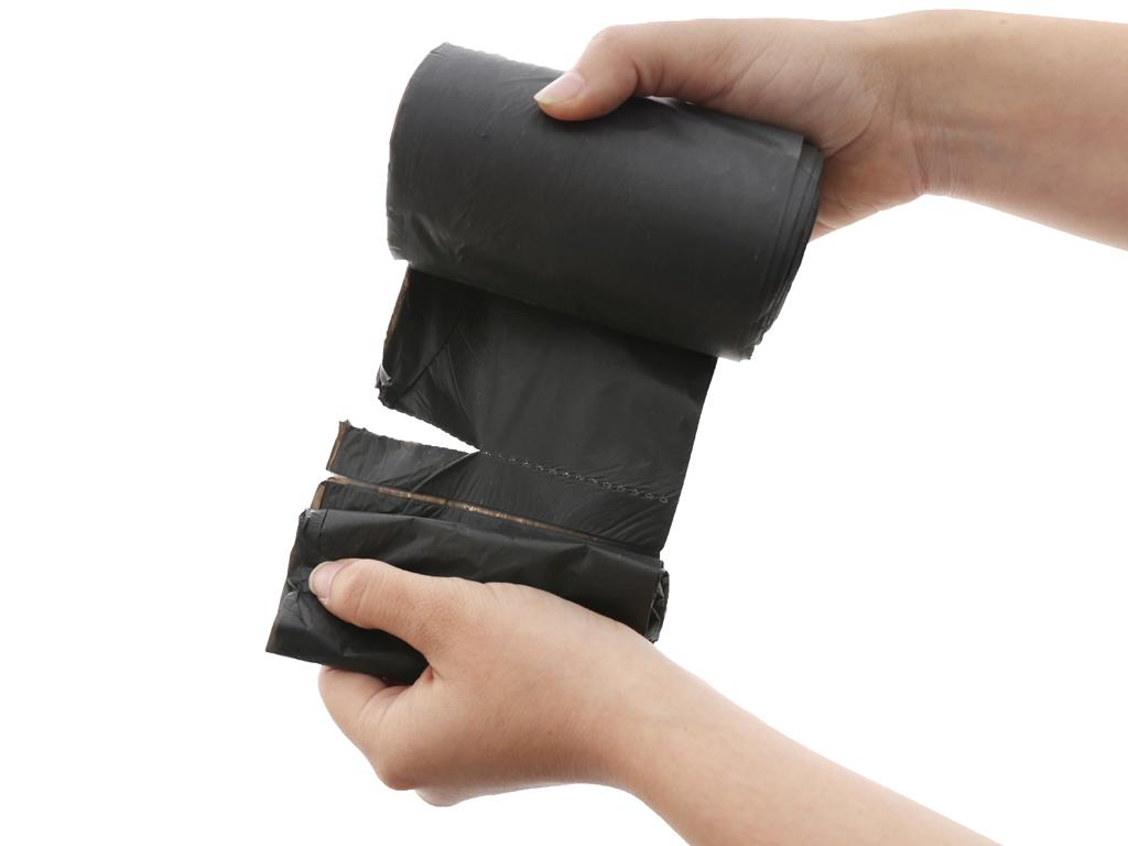 Lốc 3 cuộn túi rác đen tự huỷ sinh học Opec 45x55cm (1kg) 5