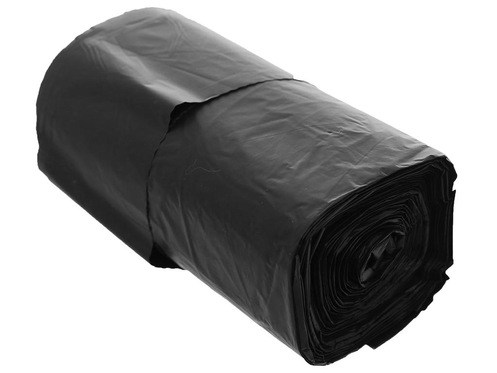 Túi rác đen có quai Inochi 46x63cm (35 túi) 4