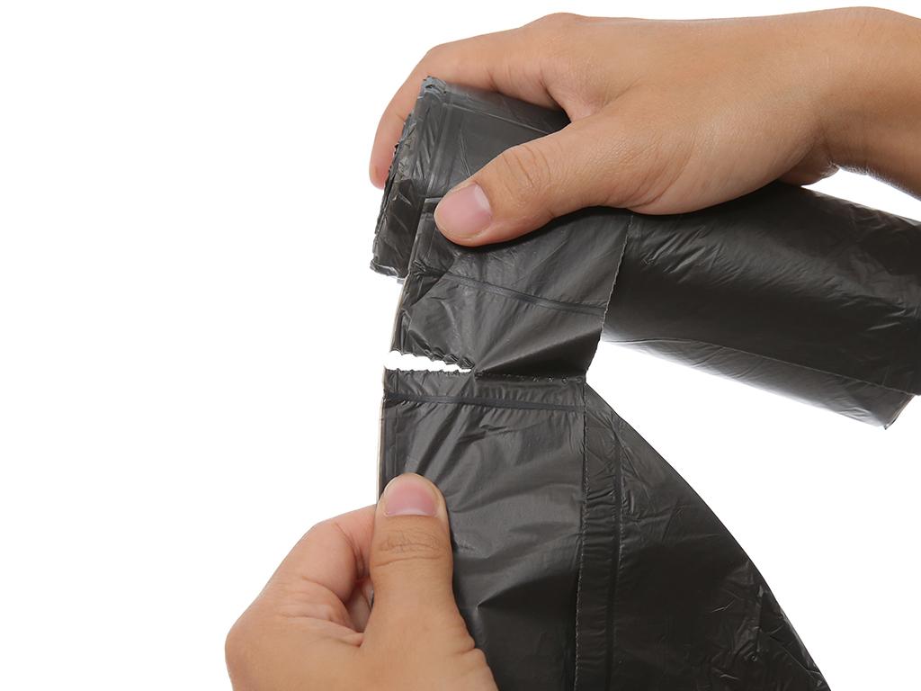 Túi rác đen có quai Inochi 60x90cm (19 túi) 3