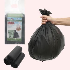 Lốc 3 cuộn túi rác đen tự huỷ sinh học Nam Thái Sơn 44x56cm (1kg)