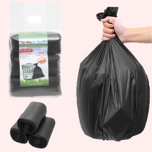 Lốc 3 cuộn túi rác đen tự huỷ sinh học Nam Thái Sơn 64x78cm (1kg)