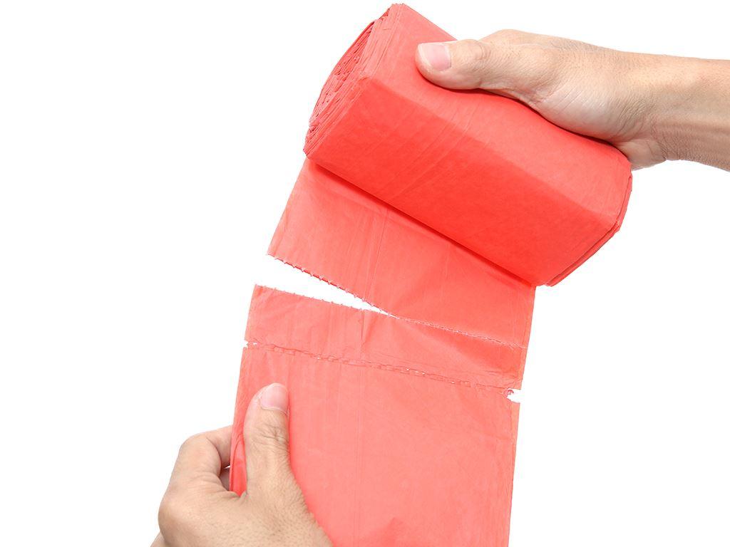Lốc 3 cuộn túi rác màu Trương Ngọc Bích 55x65cm (1kg) 5
