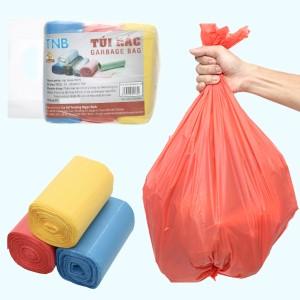 Lốc 3 cuộn túi rác màu Trương Ngọc Bích 55x65cm (1kg)