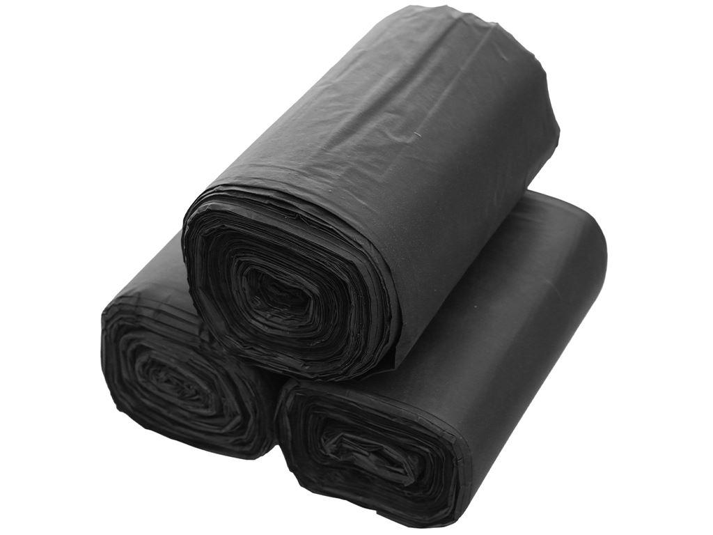Lốc 3 cuộn túi rác đen Trương Ngọc Bích 55x65cm (1kg) 3