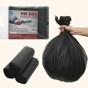 Lốc 3 cuộn túi rác đen Trương Ngọc Bích 55x65cm (1kg)