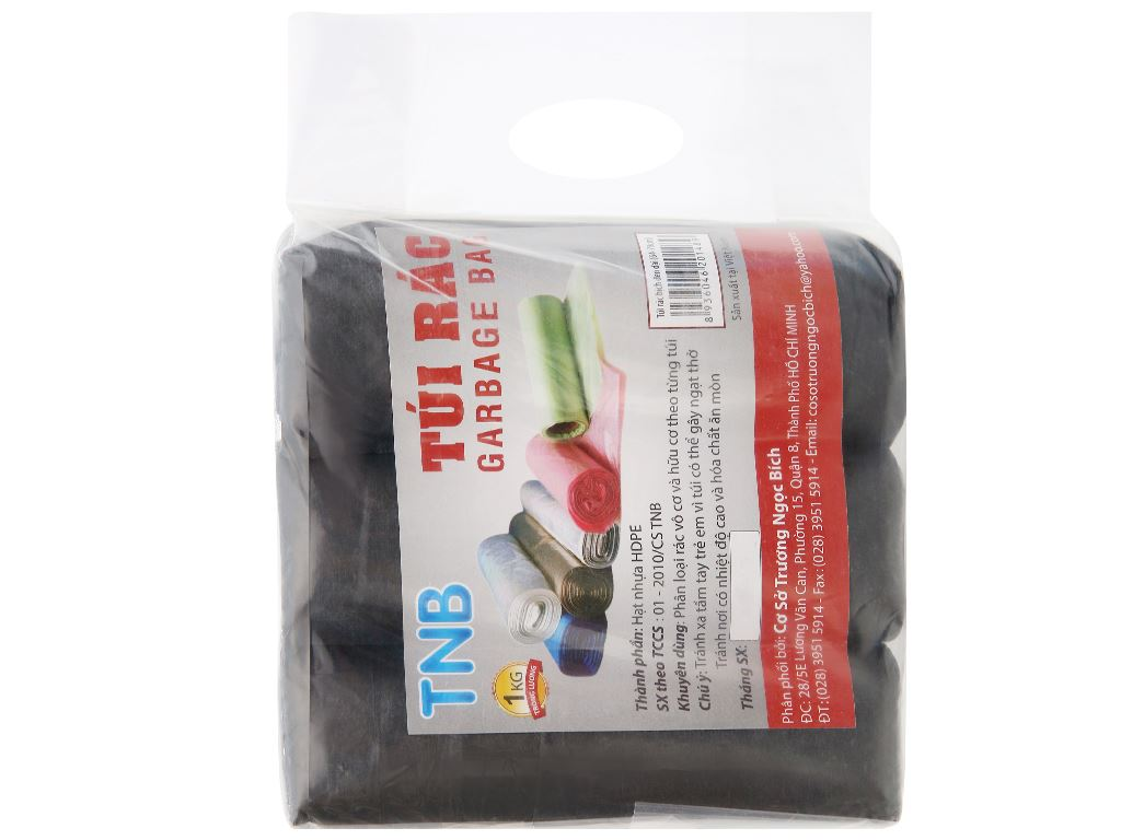 Lốc 3 cuộn túi rác đen Trương Ngọc Bích 64x78cm (1kg) 4