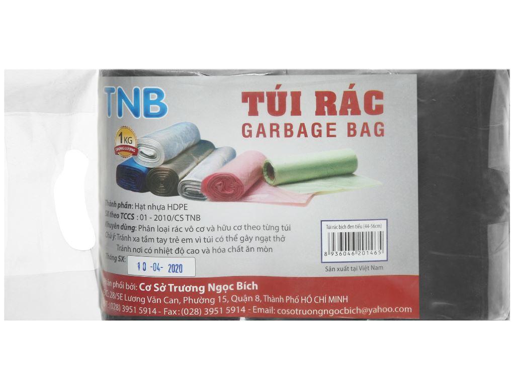 Lốc 3 cuộn túi rác đen Trương Ngọc Bích 44x56cm (1kg) 1
