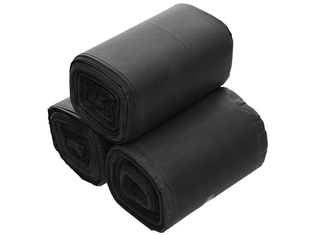 Lốc 3 cuộn túi rác đen Trương Ngọc Bích 44x56cm (1kg) 3