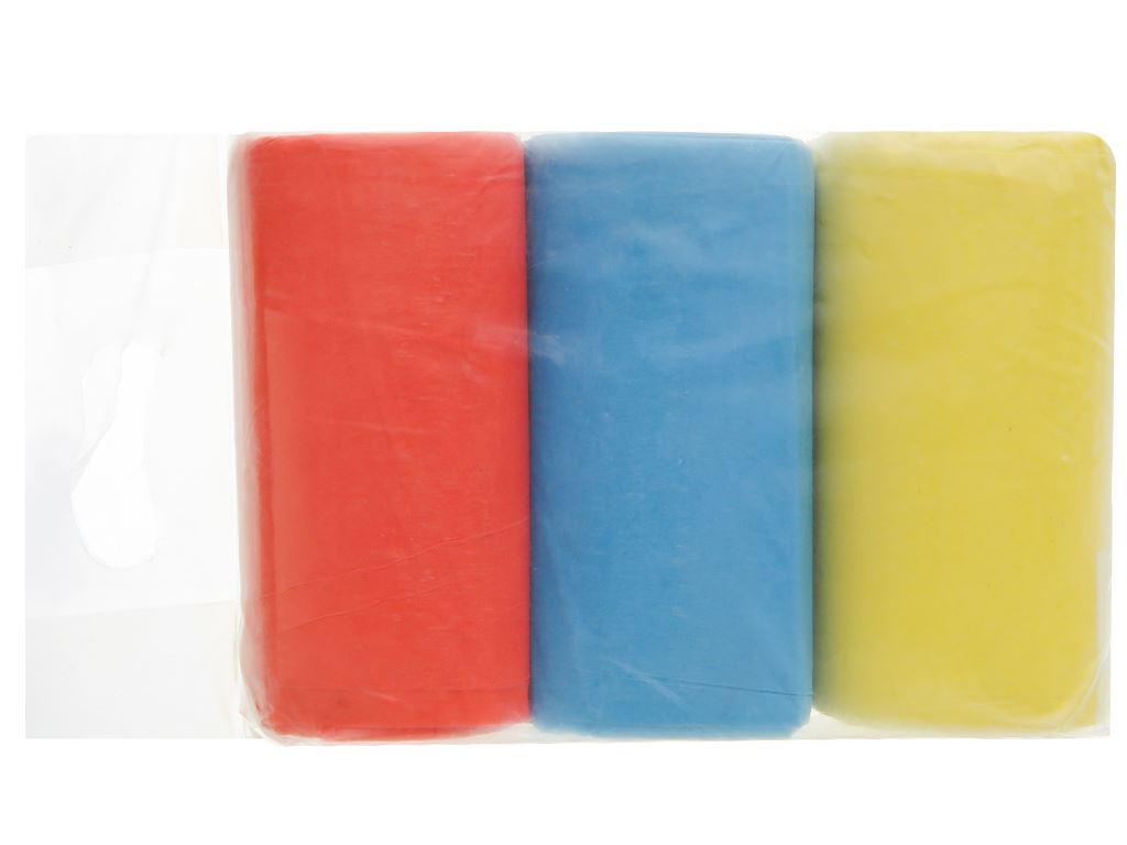Lốc 3 cuộn túi rác màu Trương Ngọc Bích 44x56cm (1kg) 2