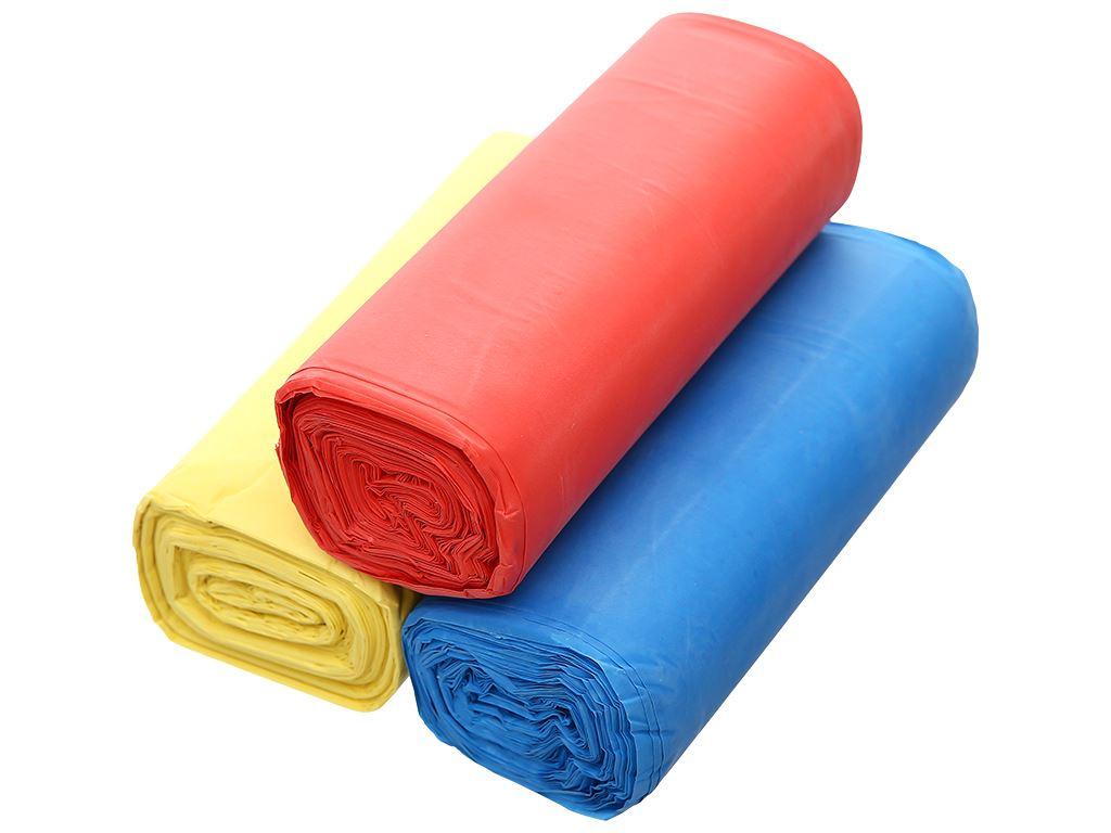 Lốc 3 cuộn túi rác màu Trương Ngọc Bích 64x78cm (1kg) 3