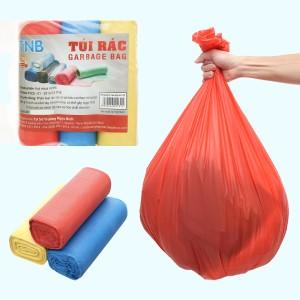 Lốc 3 cuộn túi rác màu Trương Ngọc Bích 64x78cm (1kg)