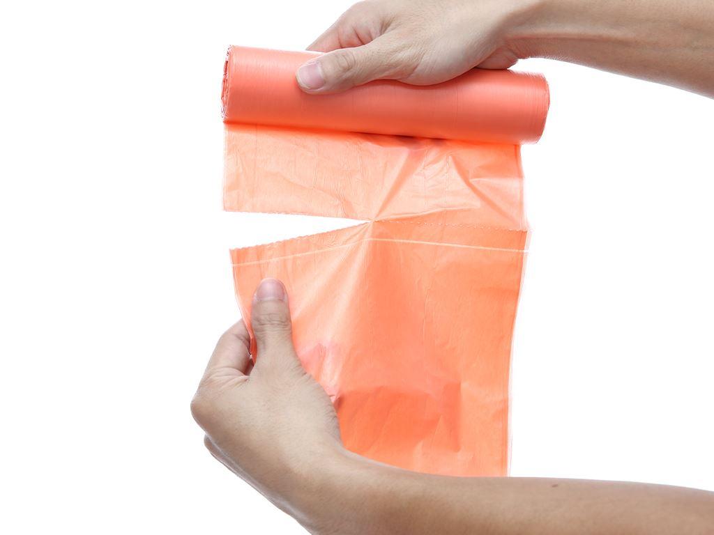 Lốc 3 cuộn túi rác màu Nam Thái Sơn 66x82cm 5
