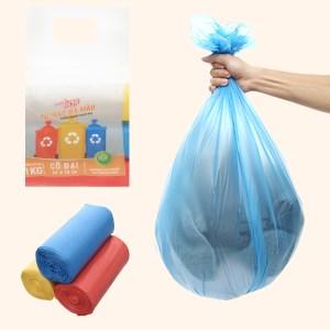 Lốc 3 cuộn túi rác màu tự huỷ sinh học Nam Thái Sơn 64x78cm (1kg)