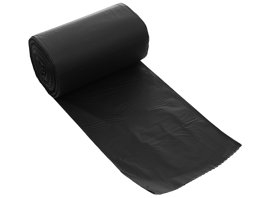 Lốc 3 cuộn túi rác đen tự huỷ sinh học Bách Hóa XANH 44x56cm (1kg) 4