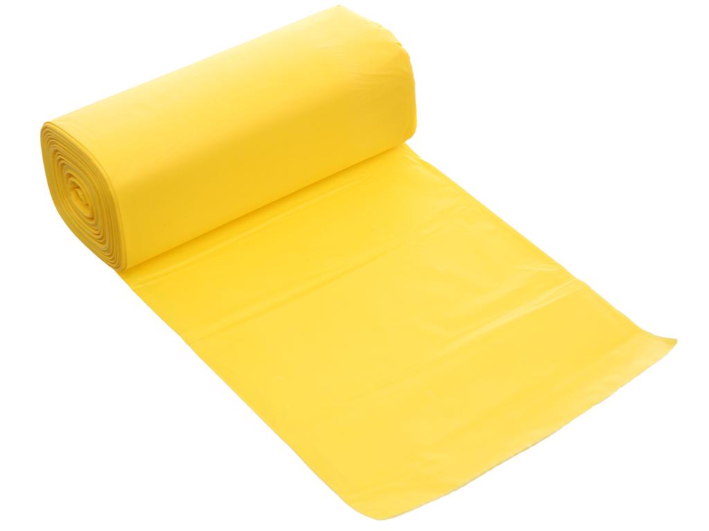 Lốc 3 cuộn túi rác nhiều màu tự huỷ sinh học Bách Hóa XANH 55x65cm (1kg) 4