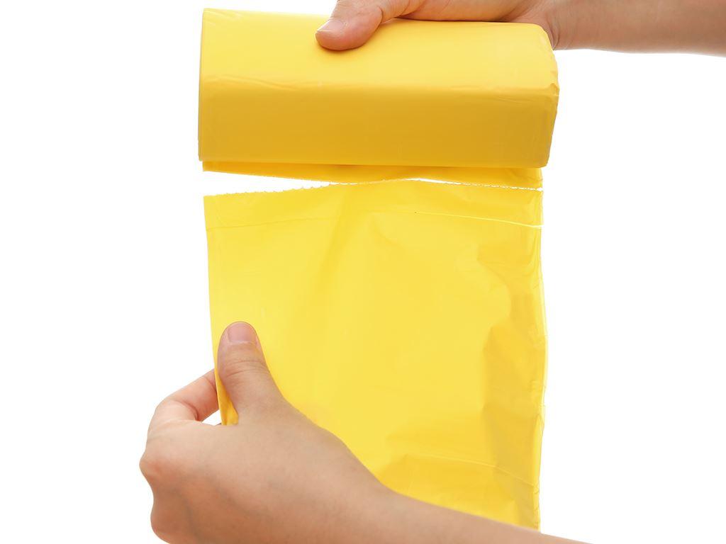Lốc 3 cuộn túi rác nhiều màu tự huỷ sinh học Bách Hóa XANH 55x65cm (1kg) 5
