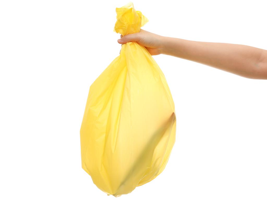 Lốc 3 cuộn túi rác nhiều màu tự huỷ sinh học Bách Hóa XANH 55x65cm (1kg) 6