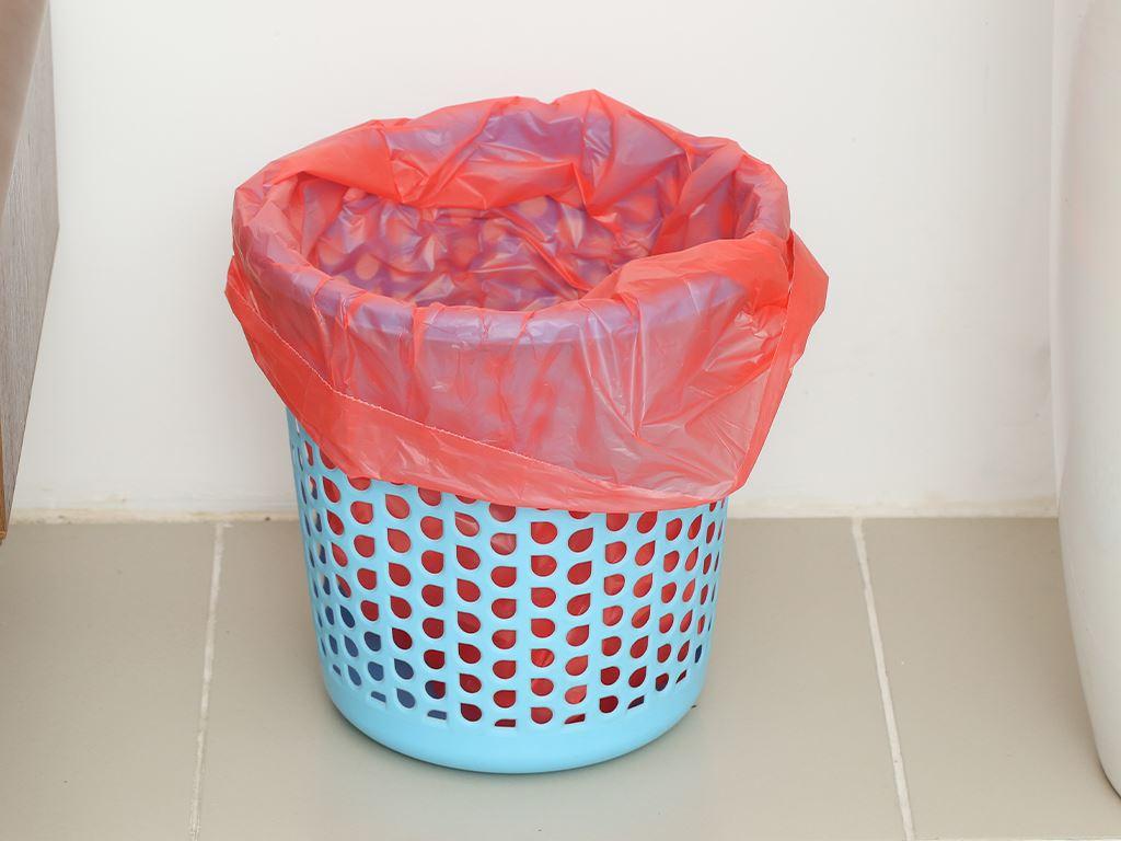Lốc 3 cuộn túi rác nhiều màu tự huỷ sinh học Bách Hóa XANH 55x65cm (1kg) 7