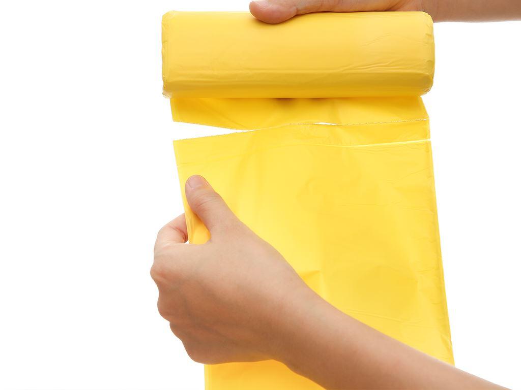 Lốc 3 cuộn túi rác nhiều màu tự huỷ sinh học Bách Hóa XANH 64x78cm (1kg) 5