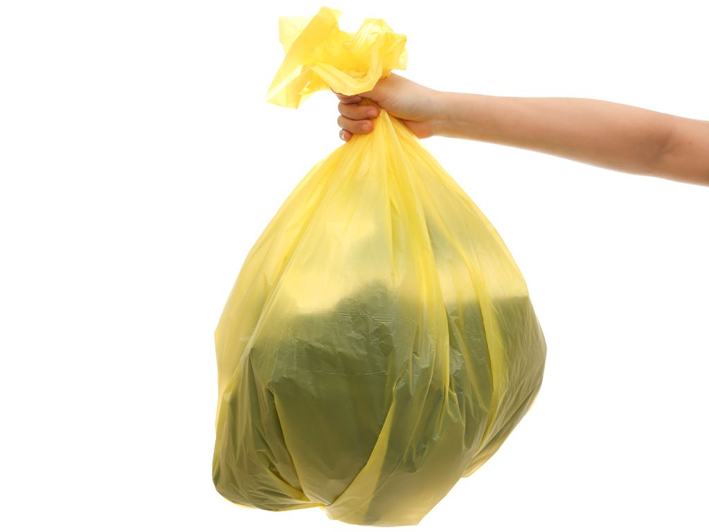 Lốc 3 cuộn túi rác nhiều màu tự huỷ sinh học Bách Hóa XANH 64x78cm (1kg) 6