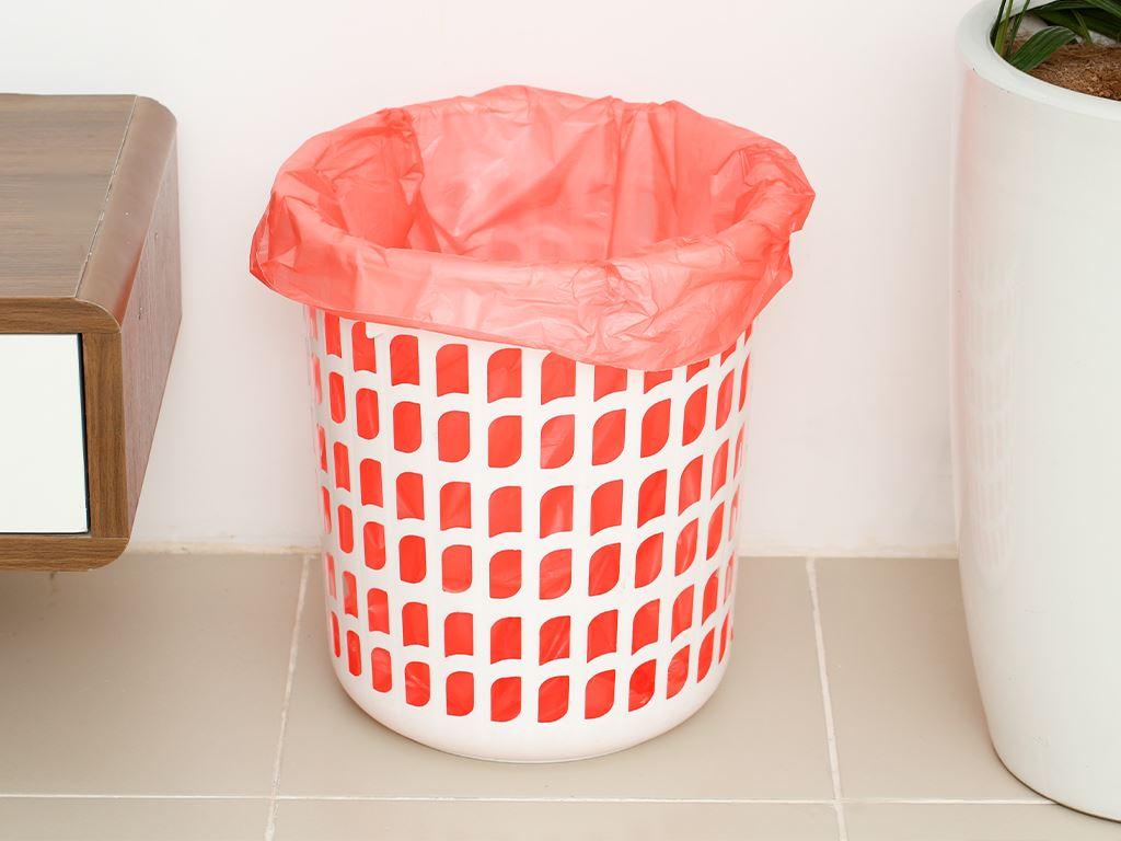 Lốc 3 cuộn túi rác nhiều màu tự huỷ sinh học Bách Hóa XANH 64x78cm (1kg) 7