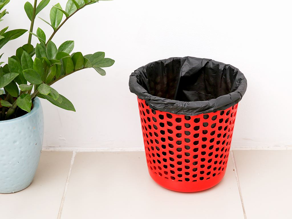 1 cuộn túi rác đen tự huỷ sinh học Bách Hóa XANH 44x56cm (250g) 6
