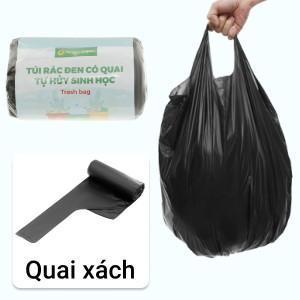 1 cuộn túi rác đen tự huỷ sinh học Bách Hóa XANH 44x56cm (250g)