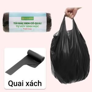1 cuộn túi rác đen tự huỷ sinh học Bách Hóa XANH 55x65cm (250g)