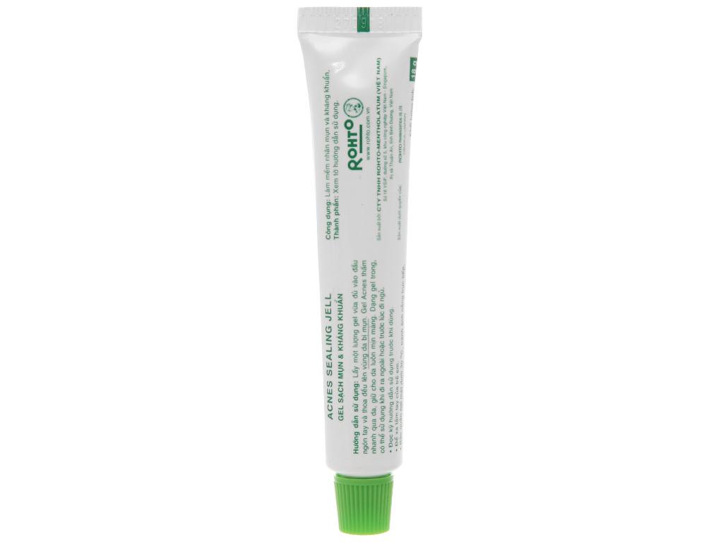 Gel sạch mụn kháng khuẩn Acnes Sealing Jell 18g 3