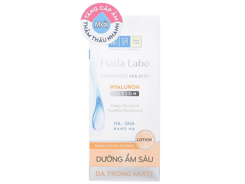 Dung dịch dưỡng ẩm tối ưu Hada Labo Advanced Nourish cho da thường 100ml 9